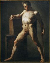 Th.Gericault, Aktstudie eines Mannes by AKG  Images