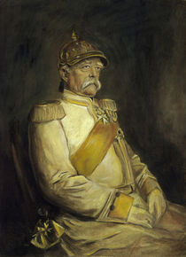 Bismarck in Kuerassieruniform / Lenbach by AKG  Images