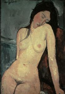 A.Modigliani, Sitzender weiblicher Akt von AKG  Images
