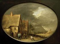 David Teniers d.J., Beim Kegelspiel by AKG  Images