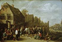 David Teniers d.J., Dorffest von AKG  Images