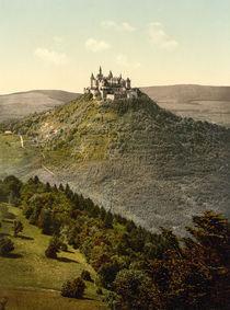 Burg Hohenzollern / Photochrom von AKG  Images