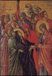 Duccio, Kreuzigung Christi, Ausschnitt by AKG  Images