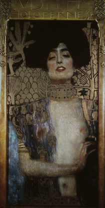 Klimt, Judith mit Haupt des Holofernes by AKG  Images