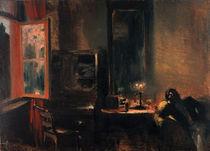 A.v.Menzel, Wohnzimmer von Maercker von AKG  Images