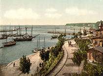 Sassnitz, Hafen / Photochrom by AKG  Images