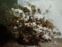 Gustave Courbet, Blumenstilleben/ 1855 von AKG  Images