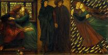 D.G.Rossetti, Paolo und Francesca von AKG  Images