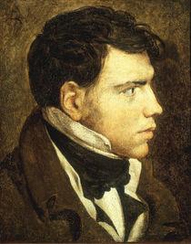 J.A.D.Ingres, Bildnis junger Mann von AKG  Images