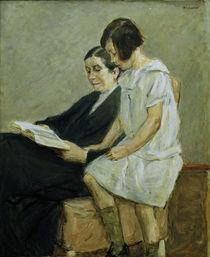 M.Liebermann, Gattin und Enkelin von AKG  Images
