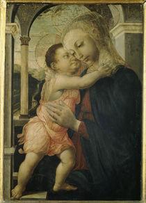 Botticelli, Madonna della Loggia von AKG  Images