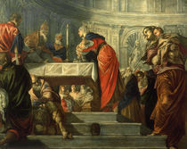 Tintoretto, Darstellung Jesu im Tempel by AKG  Images