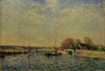 A.Sisley, Canal du Loing by AKG  Images