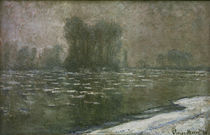 C.Monet, Matin brumeux, debacle by AKG  Images