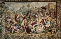 Schlacht am Ticinus / Bildteppich von AKG  Images