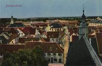 Germersheim, Stadtansicht / Postkarte by AKG  Images