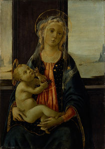 Botticelli, Maria mit Kind (del mare) by AKG  Images