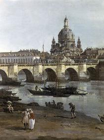 Dresden vom recht.Elbufer / Bellotto by AKG  Images