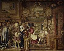 Ludwig XIV. empfaengt Flavio Chigi, 1664 by AKG  Images
