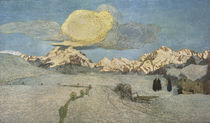 G.Segantini,Tod (Alpen Triptychon) von AKG  Images