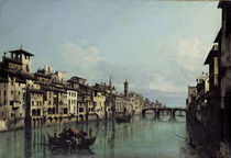 Florenz, Arno / Gem.v.Bellotto by AKG  Images