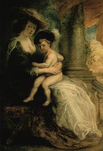 Rubens/ Helene Fourment + Sohn Frans by AKG  Images