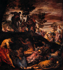 Tintoretto, Wunderbare Brotvermehrung by AKG  Images