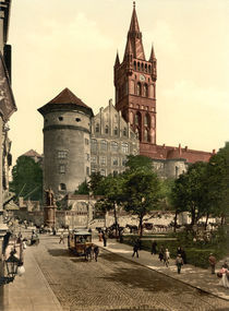 Koenigsberg, Schloss / Photochrom by AKG  Images
