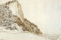 C.D.Friedrich, Stubbenkammer/Grafik 1801 by AKG  Images