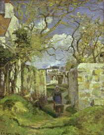 Camille Pissarro, Baeuerin mit Schubkarre by AKG  Images