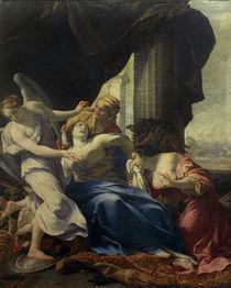 Tod der Dido / Gem.v.S.Vouet von AKG  Images
