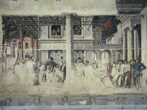 Mantegna, Martyrium Christophorus ect. von AKG  Images