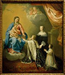 Ludwig XIV. Muttergottes / de Champaigne by AKG  Images