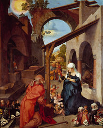 Albrecht Duerer / 'Die Geburt Christi' by AKG  Images