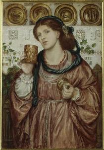 D.G.Rossetti, Der Kelch der Liebe von AKG  Images