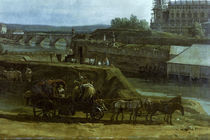 Dresden vom linken Elbufer / Bellotto by AKG  Images