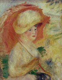 A.Renoir, Frau mit Sonnenschirm by AKG  Images