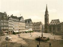 Frankfurt a.M., Roemerberg / Photochrom by AKG  Images