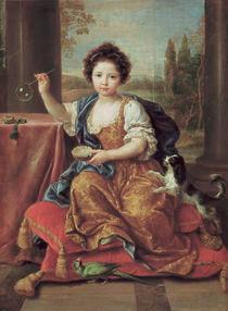 P.Mignard, Das kleine Maedchen... von AKG  Images