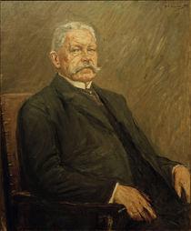 Paul von Hindenburg, Gem. von Liebermann von AKG  Images