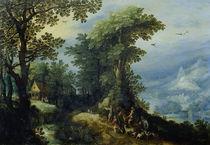 J.Brueghel d.Ae., Rueckkehr von der Jagd von AKG  Images