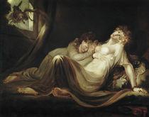 Fuessli/Die Nachtmahr verlaesst Lager/1793 by AKG  Images