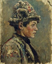 W.I.Surikow, Kopfstudie eines Knaben by AKG  Images