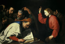 J.de Reibera, 12jaehr.Jesus u.Schriftgel. von AKG  Images