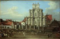 Warschau, Visitantinnenkirche / Bellotto von AKG  Images
