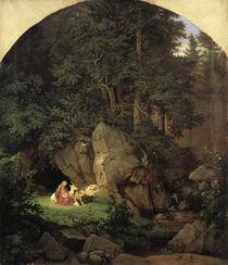 Richter/Genoveva in der Waldeinsamkeit von AKG  Images