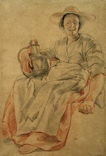 J.Jordaens, Frau mit einem Krug by AKG  Images