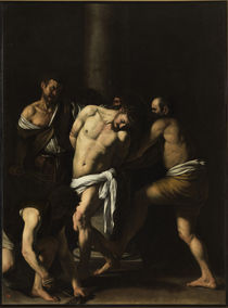 Caravaggio, Geisselung Christi by AKG  Images