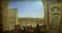 W.Turner, Rom vom Vatikan, mit Raffael von AKG  Images