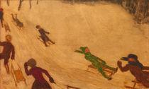 F.v.Stuck, Rodelnde Kinder by AKG  Images